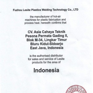 Jual Lesite Geomembran Hot Wedge Welder Lst900 Jakarta Barat Jakarta Cahaya Teknik Tokopedia