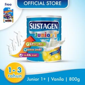 Sustagen Junior Susu Pertumbuhan Vanila 800g - Free Mainan Hot Wheels