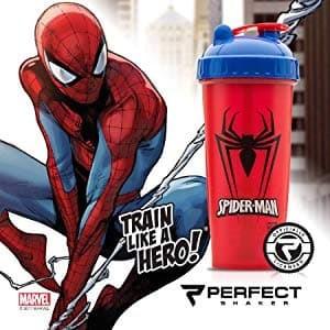 Botol Shaker Spiderman Cup Marvel Collection Original Series
