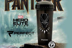 Botol Shaker Black Panther Cup Marvel Collection Original Series