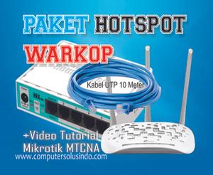 Paket Hotspot indoor Untuk Warkop Siap Pakai