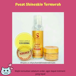 Shineskin paket hemat flek hitam kulit kering/ normal