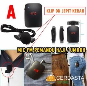 Mic imam Mic pemandu tour wireless Fm Transmiter Gelombang Radio FM