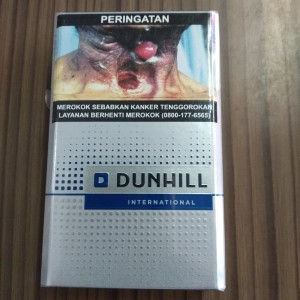 Rokok Dunhill International 20 Biru