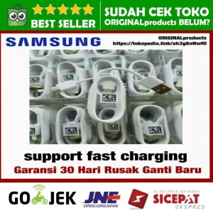 USB Type C Samsung Galaxy A5 A7 S8 + Plus Original Kabel Data Charger