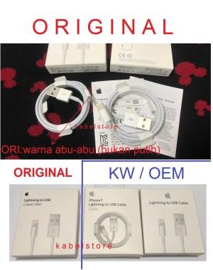 USB Kabel Charger Lightning Iphone 7 6s 6 5s 5c 5 Apple Data Original