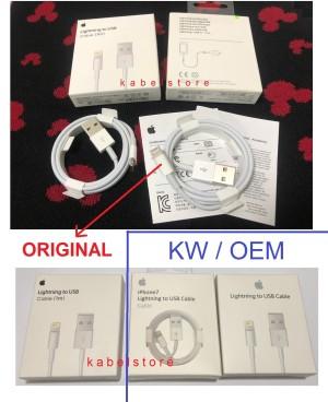 Lightning Kabel Data Iphone 5 5s 6 6s 6+ 7 7s 7+ ipad Original