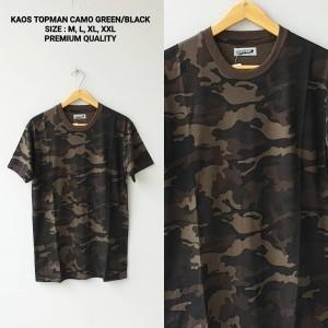 T-Shirt Kaos Topman Camo