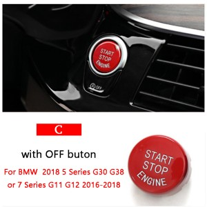 BMW reflektor //5//6//7 models red round