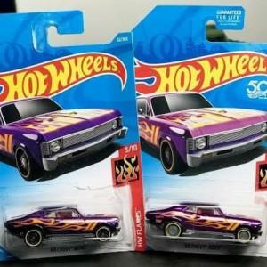 68 Chevy Noba HW Flames 3/10 Ban Karet