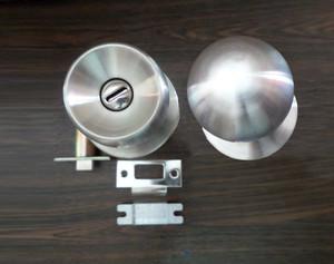 Kunci pintu GOAL door lock US 4B BS 70 DT 40 Stainless Steel TERMURAH