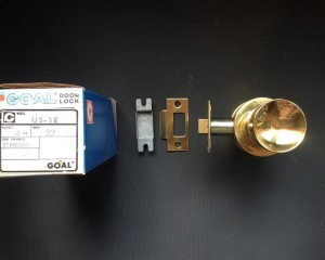 Kunci pintu GOAL door lock US 1E, B/S 70 DT 40 Finish: Brass TERMURAH