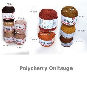 Benang Rajut Polycherry/Onitsuga Polycherry