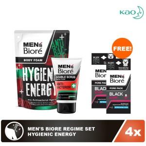 Men's Biore Regime Set - Hygienic Energy