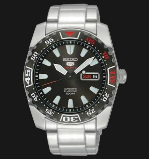 Seiko 5 Sports SRP167K1 Automatic Black Dial | Jam Tangan Pria SRP167