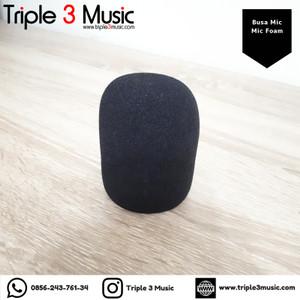 Busa Mic spon Foam Mic Condenser Dynamic murah berkualitas mikrofon