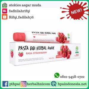 Pasta Gigi Herbal Anak HNI HPAI