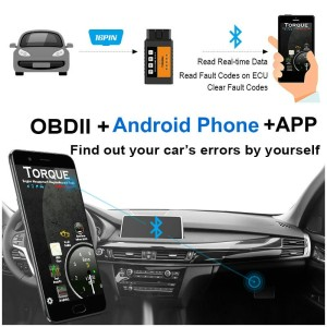 ELM327 OBD2 OBDII Bluetooth WIFI For Android Torque Car Fault Diagnostic Scanner