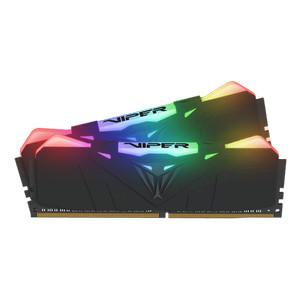 Patriot Viper RGB 16GB (2X8GB) DDR4 3600MHz PVR416G360C7K Free T-shirt