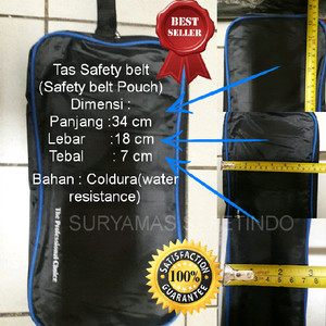 Tas safety belt/tas perkakas simple/safety belt pouch