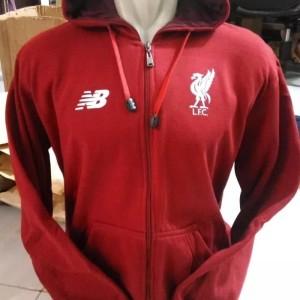 Jaket hoodie bola liverpool liga champions