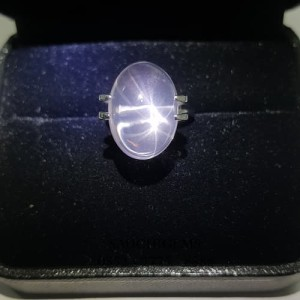 SG-060 PREMIUM STAR ROSE QUARTZ RARE COLLECTION PERFECT GLOWING