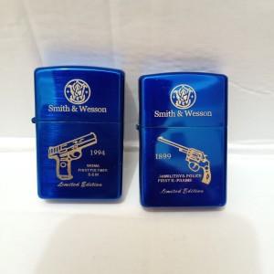 korek Zippo gambar Pistol Korek api Zippo Blue