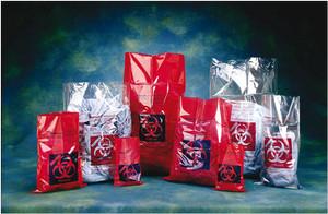 01-828D Fisherbrand PP Biohazard Autoclave Bags | Plastik Tahan Panas