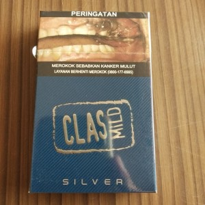 Rokok Class Mild Silver 16 - Unsealed