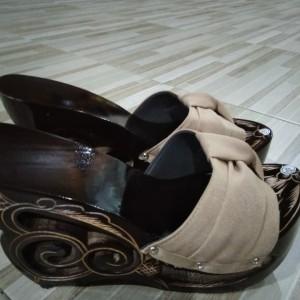 Sandal Wedges Kelom Geulis