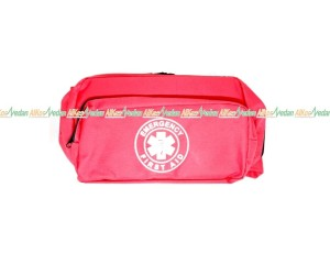 TAS PINGGANG P3K EMERGENCY FIRST AID KIT BAG ALKES MEDAN ALKESMEDAN