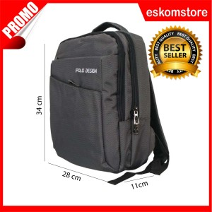Tas Ransel Kecil Polo Design Small Backpack eskomstore