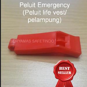 peluit emergency/peluit pelampung/peluit life jacket
