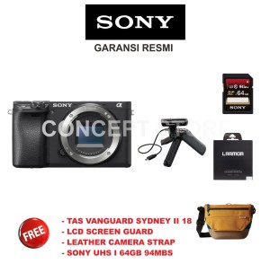 Sony Alpha A 6400 . A6400 Mirrorless Camera Body Only GP-VPT1