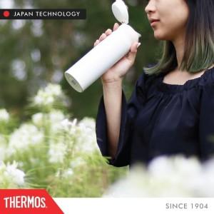 Terbaru Thermos Tumbler One Push Ultra Light - A Black 500Ml