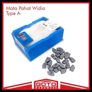 Cuci Gudang Mata Pahat Widia Type A 412 Z Cemented Carbide Tip Betel