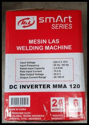 Terlaris Hnl 450 W Mesin Travo Las Listrik Inverter Eg Mma 120 A