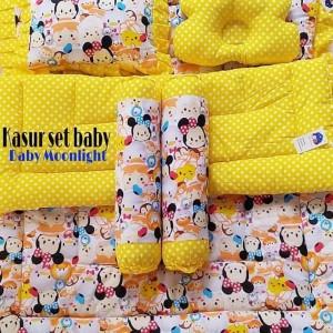 Kasur Set Baby Kuning