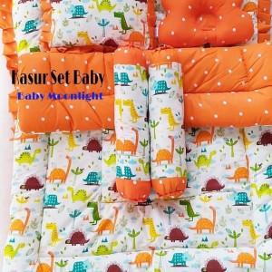 Kasur Set Baby Orange