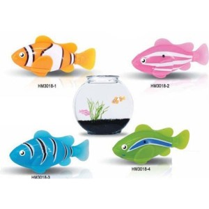 Electric Water Swim Fish Toy Mainan Ikan - 3333-A
