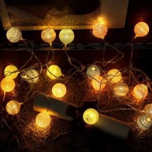 Jual 3 55m 20 Leds String Lights Cotton