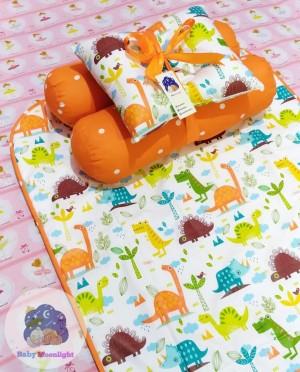 Matras Perlak Baby Set - Jurasik Orange