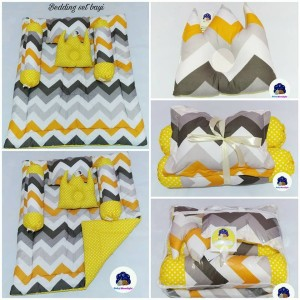 Bedding Set Baby - Retro Duo Yellow
