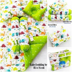Baby Bedding Set - Jurasik Green