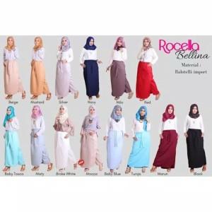 [S-XL] Promo Rocella Rok Celana Bellina Rok Fashion Muslimah Trendy