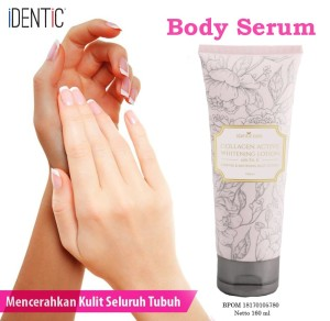 Collagen Active Whitening Lotion + Vit E Original By Identic