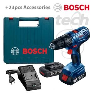 Mesin Bor Tembok Baterai / Cordless Impact Drill Bosch GSB 180-Li