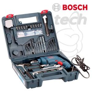 Mesin Bor Tangan Tembok Beton Listrik Bosch GSB 500 RE - Perkakas