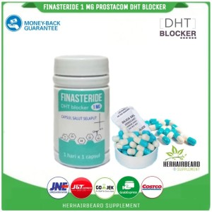 Jual Finasteride Prostacom 1mg Isi 30 Kapsul Kebotakan Dht Rambut Jakarta Barat Herhairbeard Supplement Tokopedia