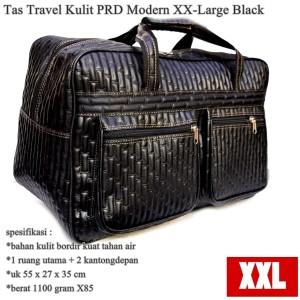 tas Jinjing Travel Besar Kulit PRD Modern XX-Large black